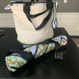 Victoria's secret tote & blanket